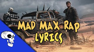 "Mad Max Rap LYRIC VIDEO by JT Machinima - ""Drive You Mad"""