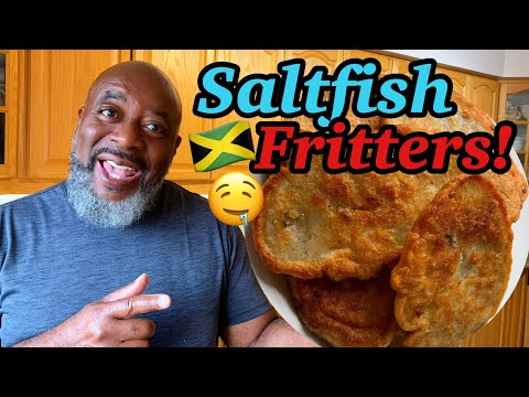 How To Make Saltfish Fritters!