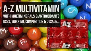 A-Z MULTIVITAMIN WITH MULTIMINERALS & ANTIOXIDANTS FROM CHEMIST