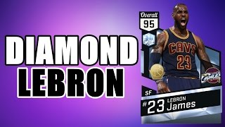 DIAMOND LEBRON JAMES + DRAFT | NBA 2K17
