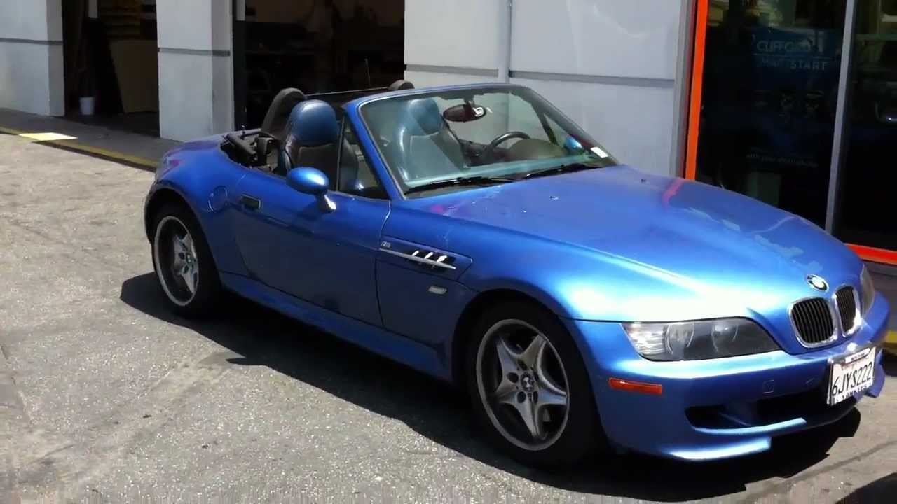 2000 BMW M Z3 ROADSTER BSW Bavarian Soundwerks Stage 1 Speaker Upgrade Al &  Ed's Venice, CA - YouTubeYouTube