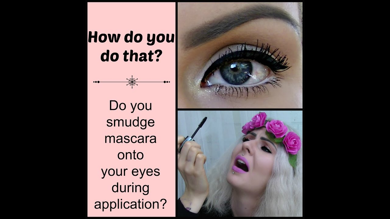 How To Apply Mascara No Smudging Top Bottom Lashes Makeup Tips
