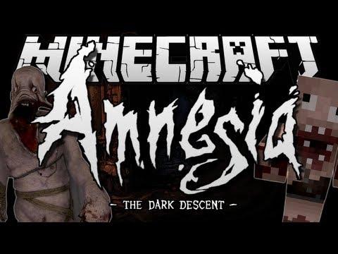 Minecraft | AMNESIA: THE DARK DESCENT! | Adventure Map [1.6.2]