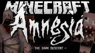 Minecraft | AMNESIA: THE DARK DESCENT! | Adventure Map [1.6.2]