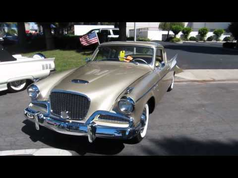Classic cars - Studebaker Supercharged Golden Hawk 1957 - Absolute Beauty!!