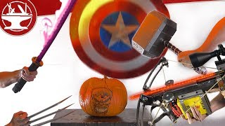 ULTIMATE PUMPKIN DESTRUCTION W/ CRAZY WEAPONS!