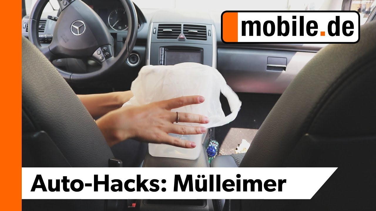 Diy Mini Mülleimer Fürs Auto Mobilede Youtube
