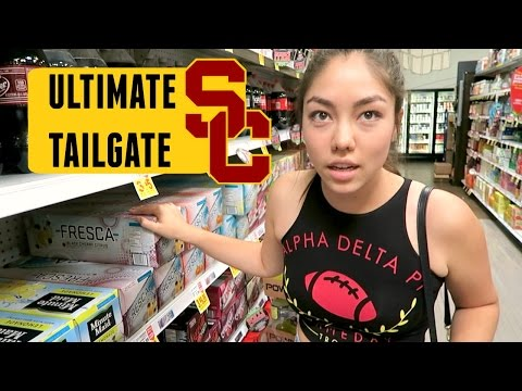 CRAZY ULTIMATE USC TAILGATE + SORORITY INVITE EXPERIENCE