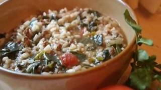 Vary Amin'anana (rice Stew With Greens And Ground Beef) Recipe - Cusine Of Madagascar