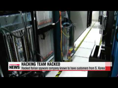 Italian hacking team spyware company hacked   이탈리아 스파이웨어 회사 ″해킹으로 통제력 상실…위험