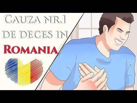 De ce mor romanii ? Cauza nr. 1 de deces in Romania:  Afla ce poti sa faci.