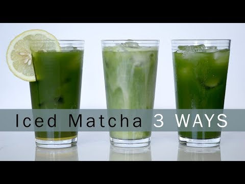 Get the Most Out of Your Matcha This Summer: Iced Matcha 3 Ways