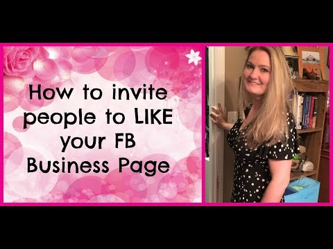 How To Invite People To LIKE Your FB Business Page