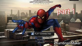 The amazing spider man online moive game part 1