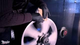 Процесс порошковой покраски дисков.(Процесс порошковой покраски дисков в Тюнинг Ателье