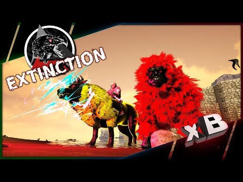 Flying Guardian Wolf! :: Modded ARK: Extinction | Parados :: E06