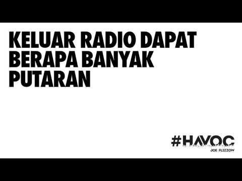 Lirik Havoc - Joe Flizzow, Altimet dan SonaOne