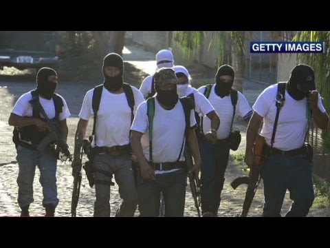 Vigilantes step in to battle Mexico drug cartels