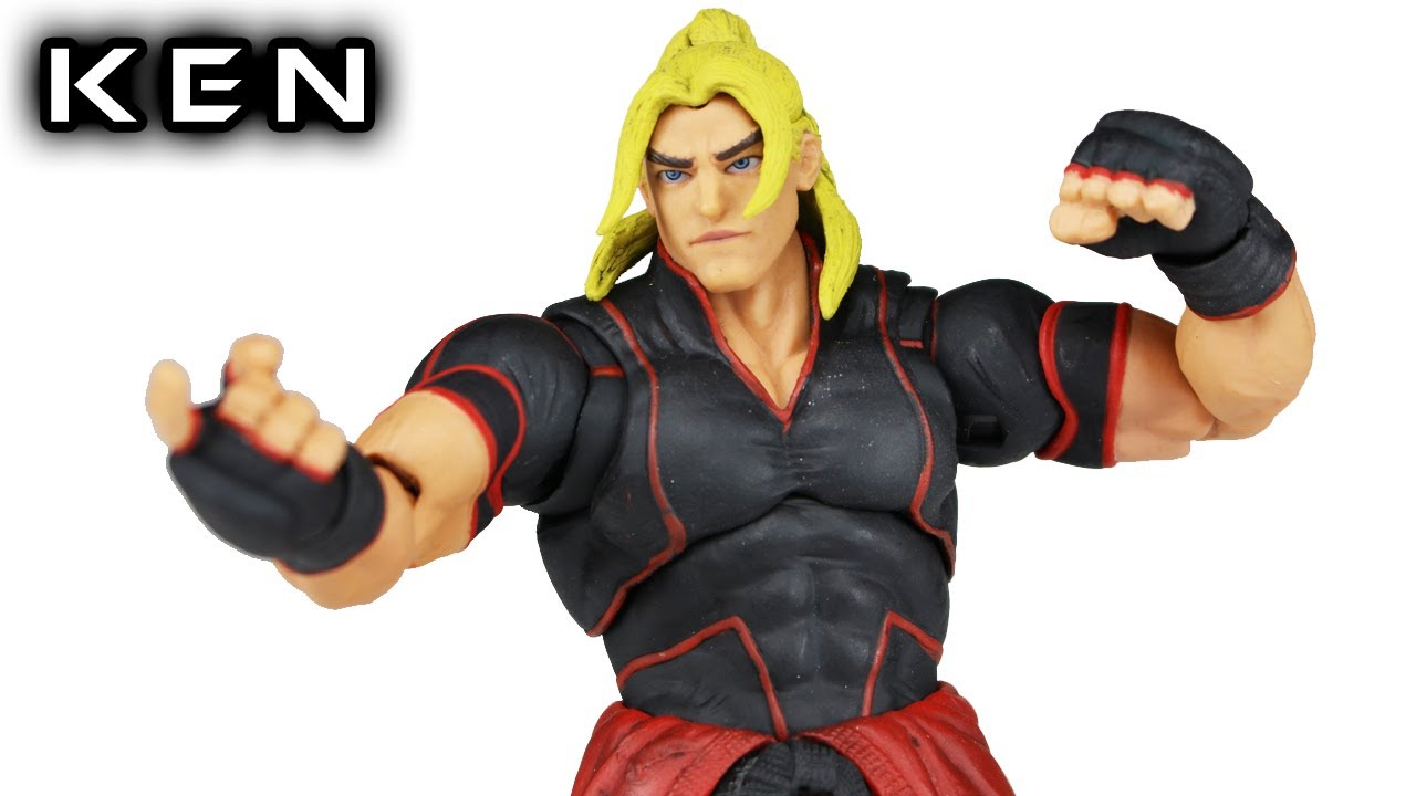 Storm Collectibles Ken Masters Street Fighter V Action Figure Toy
