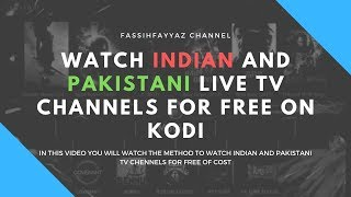 Watch Indian and Pakistani Live TV Channels For Free on Kodi - May 2019