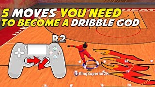 NBA 2K19 THE 5 BASIC MOVES YOU NEED TO BECOME A DRIBBLE GOD KingSuperior