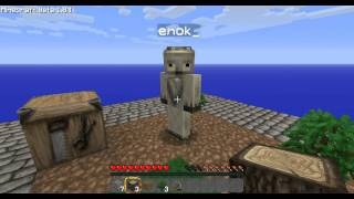 Minecraft: SkyBlock Survival - Episode 1: Woops.