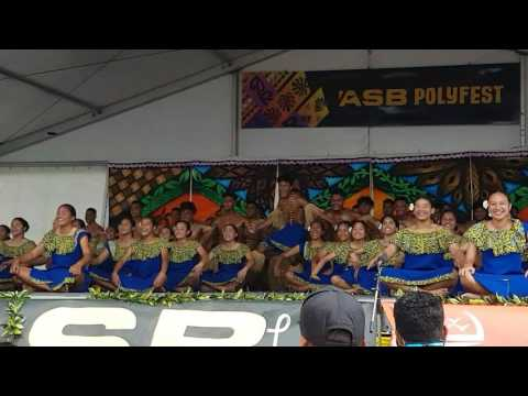 Alfriston College  Niue Group. Powerful performance