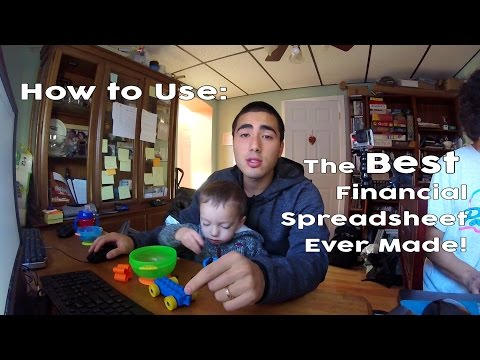 The Best Financial Overview Spreadsheet Ever Made