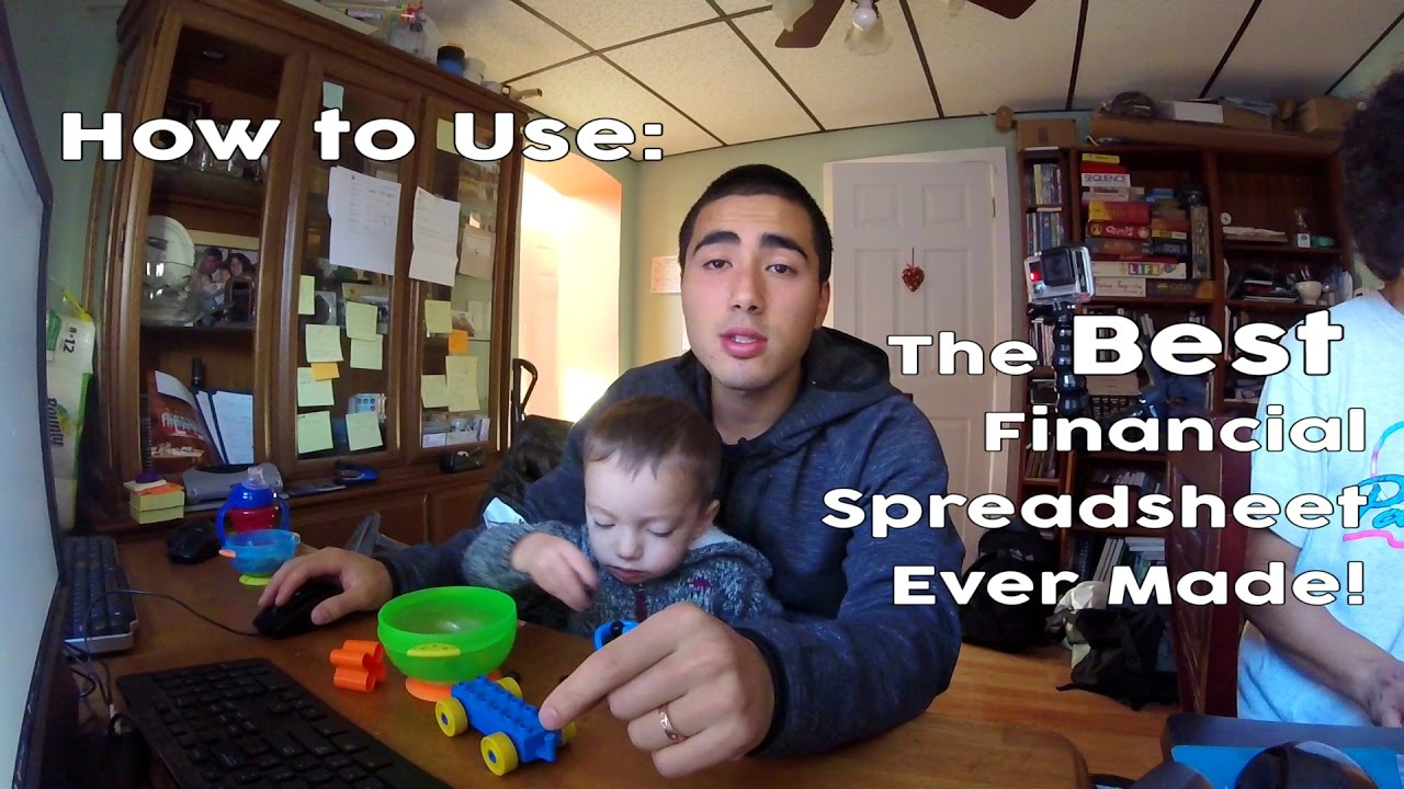 the best financial overview spreadsheet ever made youtube