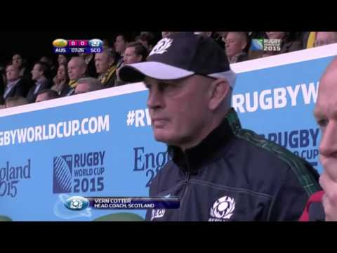 2015 RWC QF4 Australia Vs Scotland