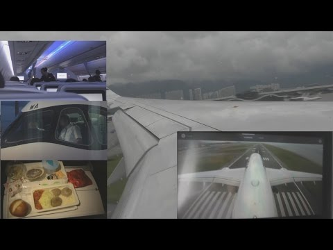 Flight Report Finnair A350 from Helsinki to Hong Kong