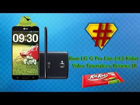 Como Rootear LG G Pro Lite Mod D680  Con Version 4.4.2 Kitkat Sin PC