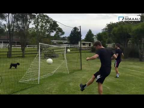 Video: Open Goaaal! Fußballtor