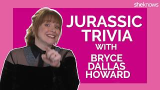 Jurassic Trivia with Bryce Dallas Howard