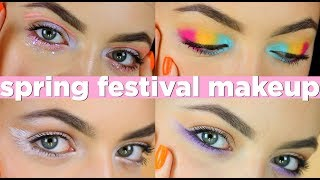 Spring & Festival Makeup Looks + GIVEAWAY!!