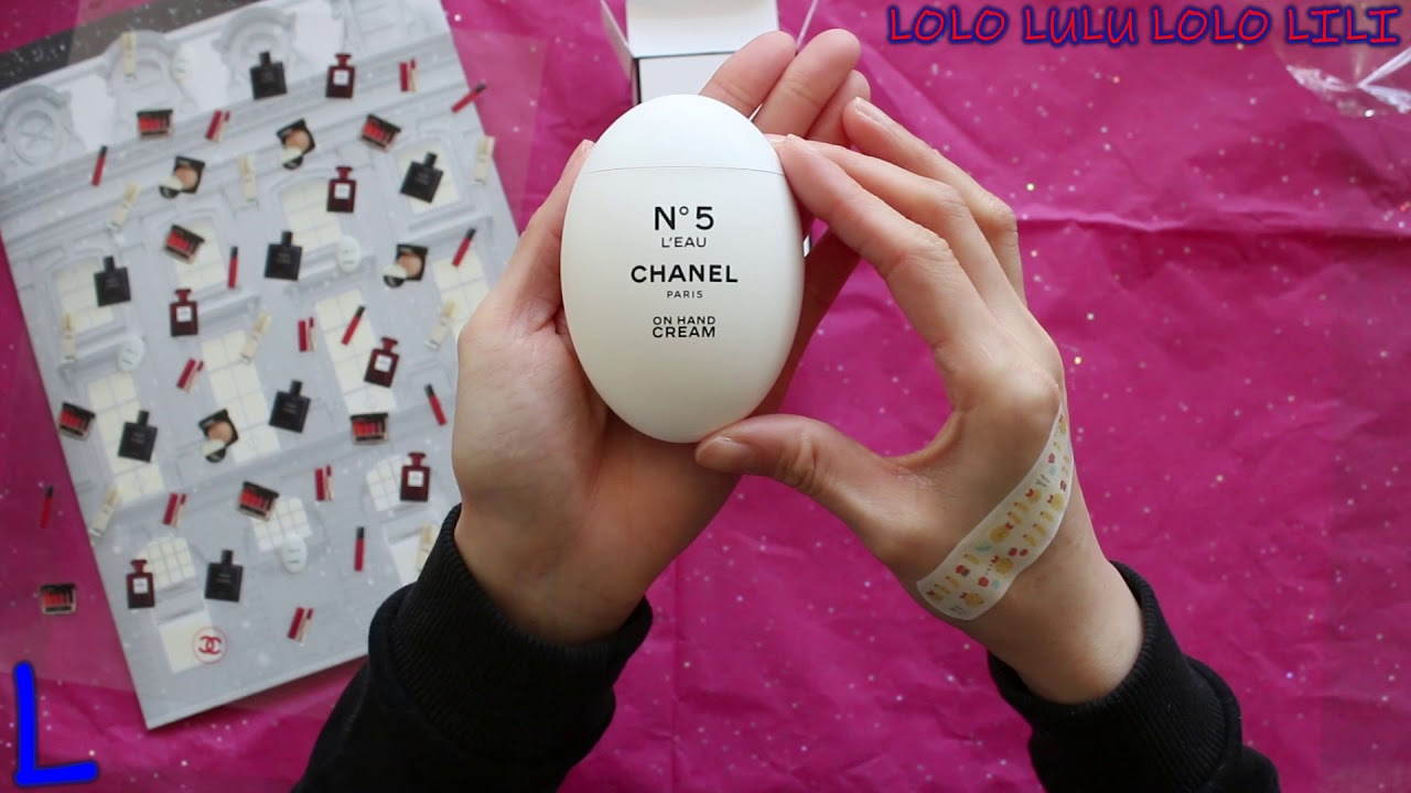 9dcd6f8122 CHANEL N°5 L'EAU La Creme Main Hand Cream & Chanel LA CREME MAIN Hand Cream