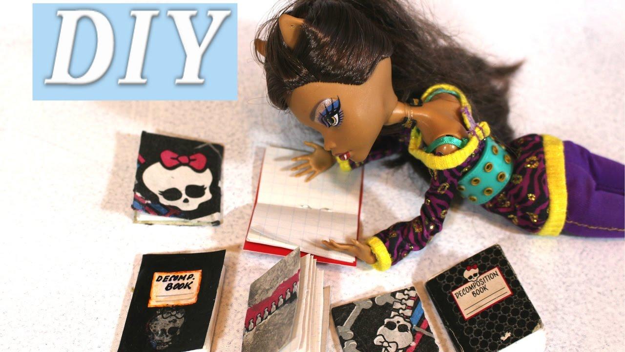 Как сделать блокнот для кукол 897