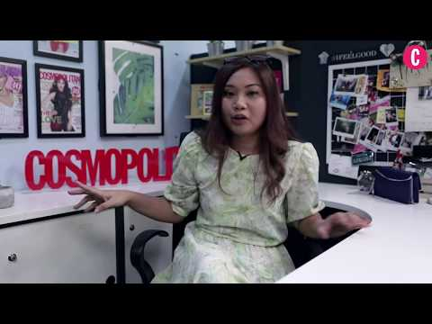 Cubicle MAKE OVER - Editor Cosmopolitan