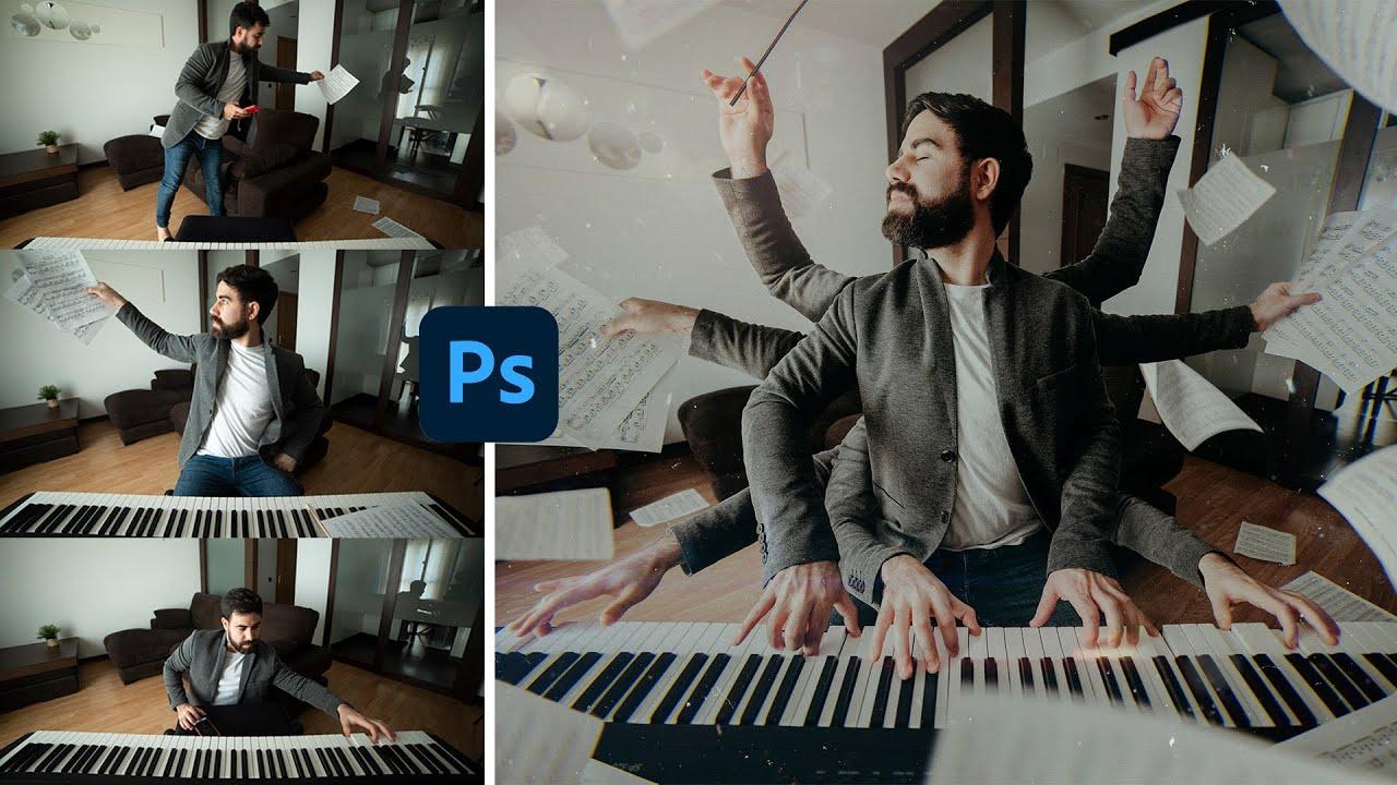 📷 Cómo Hacer un FOTOMONTAJE 👉 en Photoshop