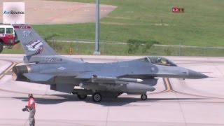 "F-16 ""Hot Pit"" Refueling"