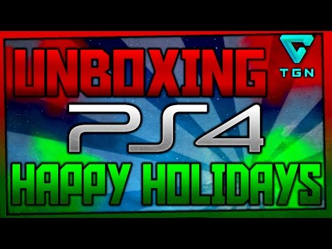 HOLIDAY SUPER UNBOXING!! PLAYSTATION 4 | HERE IT IS! | VORTEXX | EL SALVADOR