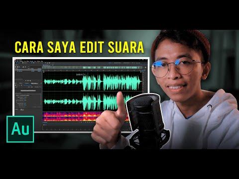 Cara Saya Edit Suara untuk Video Youtube | ADOBE AUDITION TUTORIAL #1