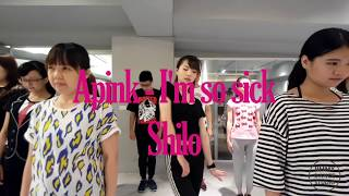 Apink - I'm so sick dance cover 2 by Shilo/Jimmy dance studio