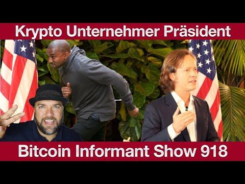#918 Ethereum Durchbruch, Brock Pierce will Präsident werden & Travala Krypto Zahlungen Expedia