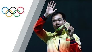 Shooter wins first ever Olympic gold medal for Vietnam