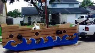 How To: Build A Parade Float - Pirate Ship/tea Party