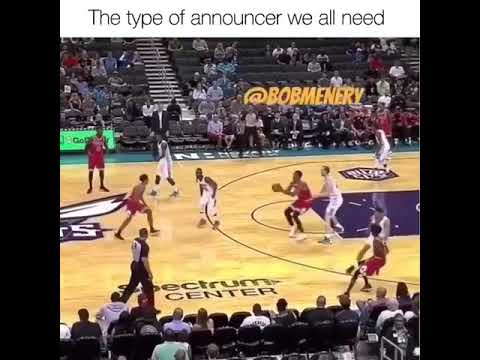 The type of NBA announcer we all need!