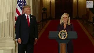Trump nominates Kirstjen Nielsen for DHS