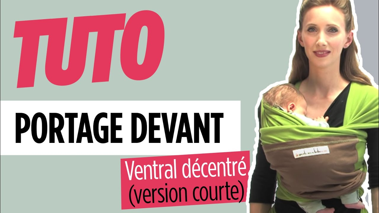 Echarpe de portage - Ventral Décentré - Love Radius (version courte ... 1bc6378efd5