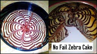 Zebra Cake Recipe, No Fail Zebra Cake Recipe